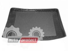 Фото 1 - TM Rezaw-Plast Коврики  в багажник Renault Kangoo 1998 - 2008-> резино-пластиковый, 5-ти местный, 1 бок. дв., черный