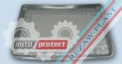 Фото 1 - TM Rezaw-Plast Коврики в багажник Renault Logan 2013 -> резино-пластиковый, черный