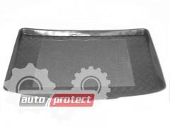 Фото 1 - TM Rezaw-Plast Коврики в багажник Renault Megane I 1996-2003-> резино-пластиковый, хетчбэк, черный
