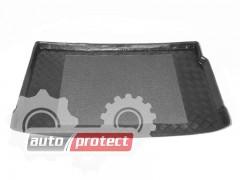 Фото 4 - TM Rezaw-Plast Коврики в багажник Renault Megane II 2003-2008-> резино-пластиковый, хетчбэк, черный