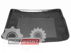 Фото 1 - TM Rezaw-Plast Коврики в багажник Renault Scenic 2003-2009-> резино-пластиковый, с решеткой, черный