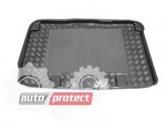 Фото 2 - TM Rezaw-Plast Коврики в багажник Renault Scenic 2003-2009-> резино-пластиковый, с решеткой, черный