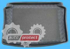 Фото 1 - TM Rezaw-Plast Коврики в багажник Seat Ibiza (3) 2002-2008-> резино-пластиковый, хетчбэк, черный, 1шт