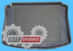 Фото 1 - TM Rezaw-Plast Коврики в багажник Seat Leon (1) 1999-2005-> резино-пластиковый, хетчбэк, черный, 1шт