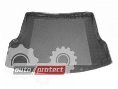 Фото 1 - TM Rezaw-Plast Коврики в багажник Skoda Octavia A-5 2005-> резино-пластиковый, седан / хетчбэк, черный, 1шт