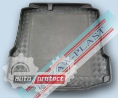 Фото 1 - TM Rezaw-Plast Коврики в багажник Skoda Rapid 2012-> резино-пластиковый, черный, 1шт