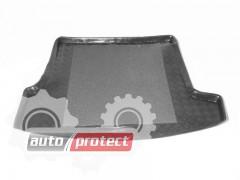 Фото 1 - TM Rezaw-Plast Коврики в багажник Skoda Superb I 2001-2008-> резино-пластиковый, черный, 1шт