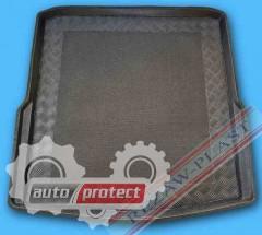 Фото 1 - TM Rezaw-Plast Коврики в багажник Skoda Superb II 2008-> резино-пластиковый, комби, черный, 1шт
