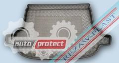 Фото 1 - TM Rezaw-Plast Коврики в багажник Subaru Forester 2013-> резино-пластиковый, черный, 1шт