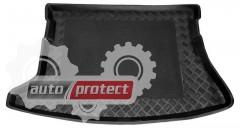 Фото 1 - TM Rezaw-Plast Коврики в багажник Toyota Auris 2007 - 2012-> резино-пластиковый, хетчбэк, черный, 1шт