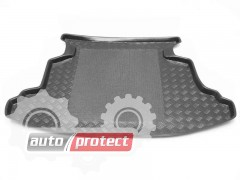 Фото 2 - TM Rezaw-Plast Коврики в багажник Toyota Corolla  9 2001-2007-> резино-пластиковый, комби, черный, 1шт