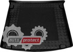 Фото 1 - TM Rezaw-Plast Коврики в багажник VW Caddy LIFE 2005-> резино-пластиковый, черный, 1шт