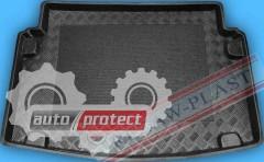 Фото 1 - TM Rezaw-Plast Коврики в багажник VW Caddy Life Maxi 2007-> резино-пластиковый, 7-ми местный, черный