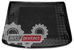 Фото 1 - TM Rezaw-Plast Коврики в багажник VW Touareg 2003-2010 / Cayenne 2002-2010-> резино-пластиковый, черный, 1шт