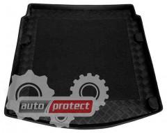Фото 1 - TM Rezaw-Plast Коврики в багажник Audi A4 (B8) 2008-2011-> резино-пластиковые, седан, черный, 1шт