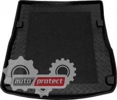 Фото 1 - TM Rezaw-Plast Коврики в багажник Audi A6 (C6) 2006-2008-> резино-пластиковые, комби, черный, 1шт