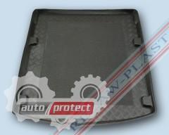 Фото 1 - TM Rezaw-Plast Коврики в багажник Audi A6 2011-> резино-пластиковые, седан, черный, 1шт