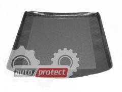 Фото 1 - TM Rezaw-Plast Коврики в багажник Audi A4 (B6) 2000-2007-> резино-пластиковые,  седан, черный, 1шт