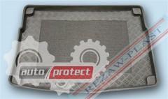 Фото 2 - TM Rezaw-Plast Коврики в багажник Kia Cee`d  2012 -> резино-пластиковый, универсал, черный