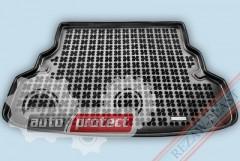 Фото 1 - TM Rezaw-Plast Коврики в багажник Kia Rio 2012-> полиуретановые, седан, черный, 1шт