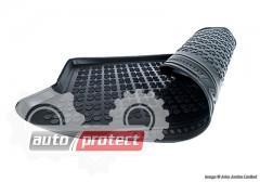 Фото 2 - TM Rezaw-Plast Коврики в багажник Mercedes-Benz C-klasse W-204 Kombi 2007-> полиуретановые, черные, 1шт