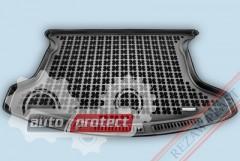 Фото 1 - TM Rezaw-Plast Коврики в багажник Nissan Qashqai II 2008 - 2013-> полиуретановый, 7-ми местный, черный