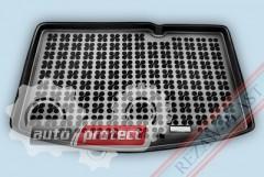 Фото 1 - TM Rezaw-Plast Коврики в багажник Toyota Yaris 2011-> полиуретановый, хетчбэк, черный, 1шт