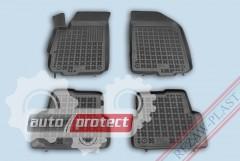 Фото 1 - TM Rezaw-Plast Коврики в салон Chevrolet Aveo 2011-> полимерные черные 4шт