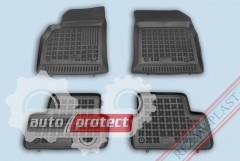 Фото 1 - TM Rezaw-Plast Коврики в салон Chevrolet Cruze 2009-> полимерные черные 4шт