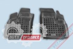 Фото 1 - TM Rezaw-Plast Коврики в салон Fiat Doblo 2005- 2010 полимерные-> резиновые, черные 2шт