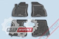 Фото 1 - TM Rezaw-Plast Коврики в салон Fiat Doblo 2009-> Opel Combo C 2011-> полимерные (резиновые), черные 4шт