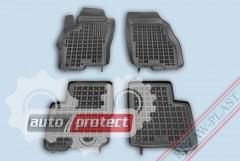 Фото 1 - TM Rezaw-Plast Коврики  в салон Fiat Linea 2007-2012, полимерные (резиновые), черные 4шт