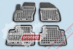 Фото 1 - TM Rezaw-Plast Коврики в салон Ford C-Max  2003-2006-> полимерные (резиновые), комплект 4 шт., черный