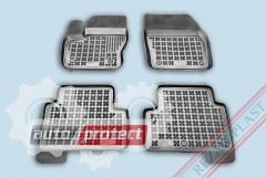 Фото 1 - TM Rezaw-Plast Коврики в салон Ford Kuga 2013-> полимерные (резиновые), черный, 4 шт.
