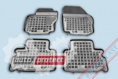 Фото 1 - TM Rezaw-Plast Коврики в салон Ford S-Max 2006-> полимерные (резиновые), черный, 4 шт.