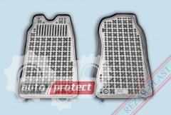 Фото 1 - TM Rezaw-Plast Коврики в салон Ford Transit 2000-2006-> полимерные (резиновые), черный, 2 шт.