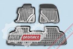 Фото 1 - TM Rezaw-Plast Коврики в салон Honda Civic 2006-2012-> полимерные (резиновые), седан, задний цельный, черный, 3 шт.