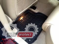 Фото 6 - TM Rezaw-Plast Коврики в салон Honda Civic 2006-2012-> полимерные (резиновые), седан, задний цельный, черный, 3 шт.