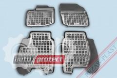 Фото 2 - TM Rezaw-Plast Коврики в салон Honda Civic 2012-> полимерные (резиновые), седан, задний цельный, черный, 3 шт.
