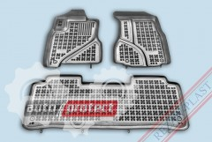 Фото 1 - TM Rezaw-Plast Коврики в салон Honda CR-V 2002-2007-> полимерные (резиновые), задний цельный, черный, 3 шт.