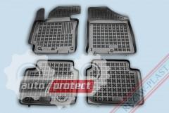 Фото 1 - TM Rezaw-Plast Коврики в салон Hyundai Elantra 2011-> полимерные (резиновые), черный, 4 шт.