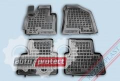 Фото 1 - TM Rezaw-Plast Коврики в салон Hyundai ix-35 2010-> полимерные (резиновые), черный, 4 шт.