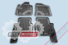 Фото 1 - TM Rezaw-Plast Коврики в салон Hyundai Santa Fe 2006-2012-> полимерные (резиновые), черный, 4 шт.