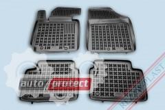 Фото 1 - TM Rezaw-Plast Коврики в салон Hyundai Veloster 2011-> полимерные (резиновые), черный, 4 шт.