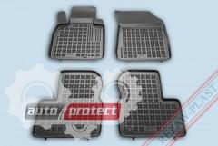 Фото 1 - TM Rezaw-Plast Коврики в салон Nissan Micra (K13) 2010-> полимерные (резиновые), черный, 4 шт.