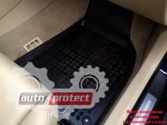 Фото 5 - TM Rezaw-Plast Коврики в салон Peugeot 3008 2009-> полимерные (резиновые), задний цельный, черный, 3 шт.