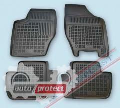 Фото 1 - TM Rezaw-Plast Коврики в салон Peugeot 308 2007-> полимерные (резиновые), черный, 4 шт.
