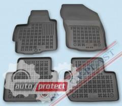 Фото 1 - TM Rezaw-Plast Коврики в салон Peugeot 4007 2008-> полимерные (резиновые), черный, 4 шт.