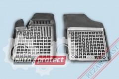 Фото 1 - TM Rezaw-Plast Коврики в салон Peugeot Partner 1997-2008-> полимерные (резиновые), черный, 2 шт.