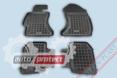 Фото 1 - TM Rezaw-Plast Коврики в салон Subaru XV 2012-> полимерные черные 4шт